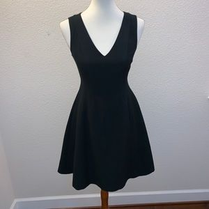 Banana Republic Black Fit And Flare LBD Size 2P